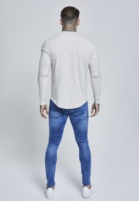 SIKSILK - LONG SLEEVE GYM TEE - Maglietta a manica lunga - snow marl - 2