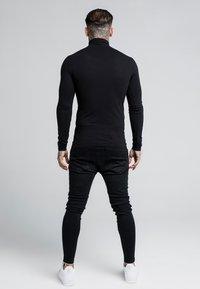 SIKSILK - ROLL NECK LONG SLEEVE - Top sdlouhým rukávem - black - 2