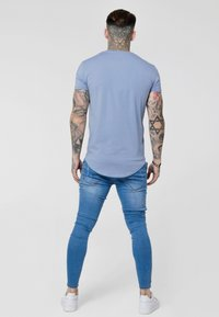 SIKSILK - GYM TEE - T-shirt - bas - blue denim - 2