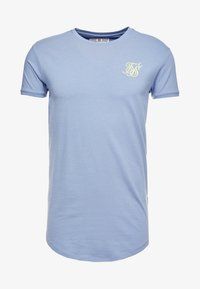 SIKSILK - GYM TEE - Camiseta básica - blue denim - 3