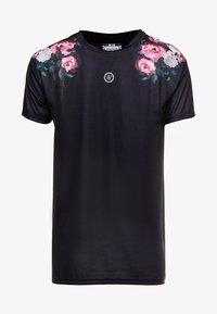 SIKSILK - OIL PAINT BOX TEE - T-shirt med print - black - 3