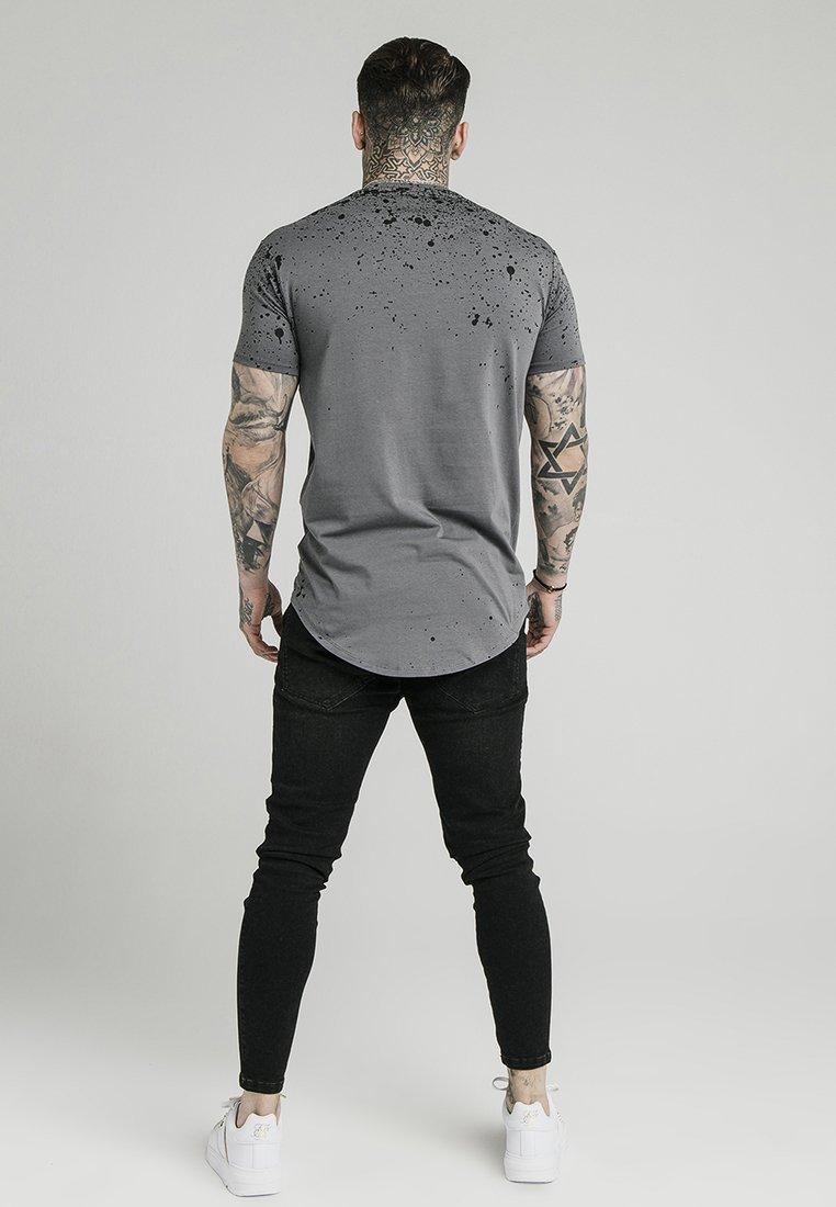Grey shirt Imprimé SplatterT black Siksilk cl1KFTJ