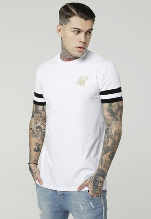 COLLAR BOX TEE - T-shirt med print - white