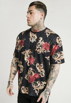 DANI ALVES ESSENTIAL TEE - T-shirt med print - black