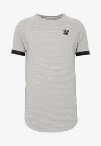 SIKSILK - RAGLAN TECH TEE - T-shirt print - grey - 3