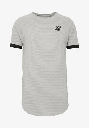 RAGLAN TECH TEE - Print T-shirt - grey