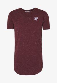 SIKSILK - NEPS TEE - T-shirt basique - burgundy - 3