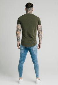 SIKSILK - NEPS TEE - T-shirt basique - khaki - 2