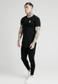 SIKSILK - NEPS TEE - T-shirt basique - black - 1