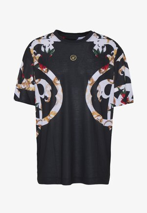BOXY FLORAL TEE - T-shirt med print - multi-coloured