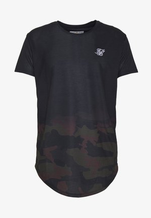FADE TEE - T-shirt con stampa - black