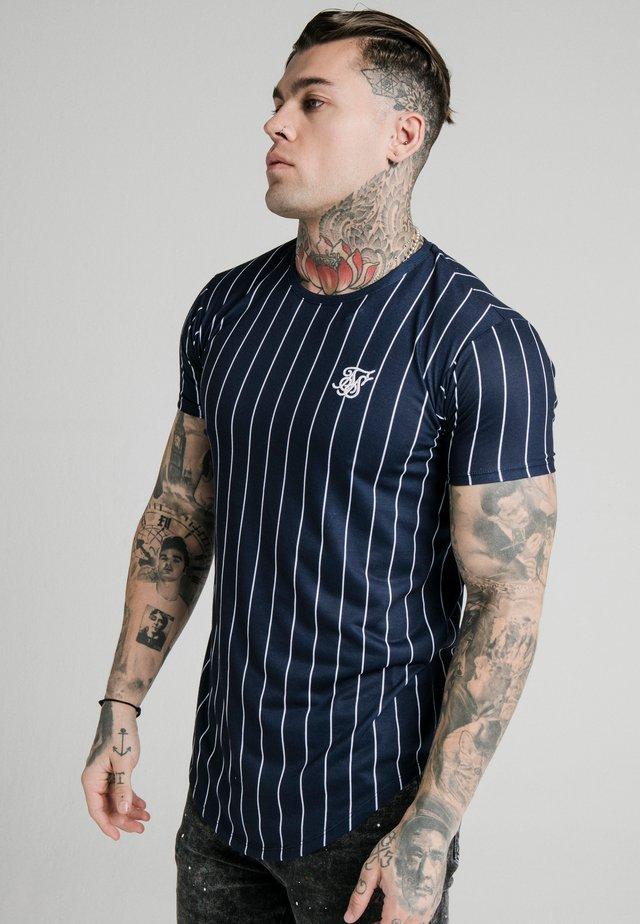 PINSTRIPE TEE - T-shirt print - navy