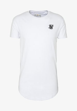 SHORT SLEEVE GYM TEE - T-shirt - bas - white