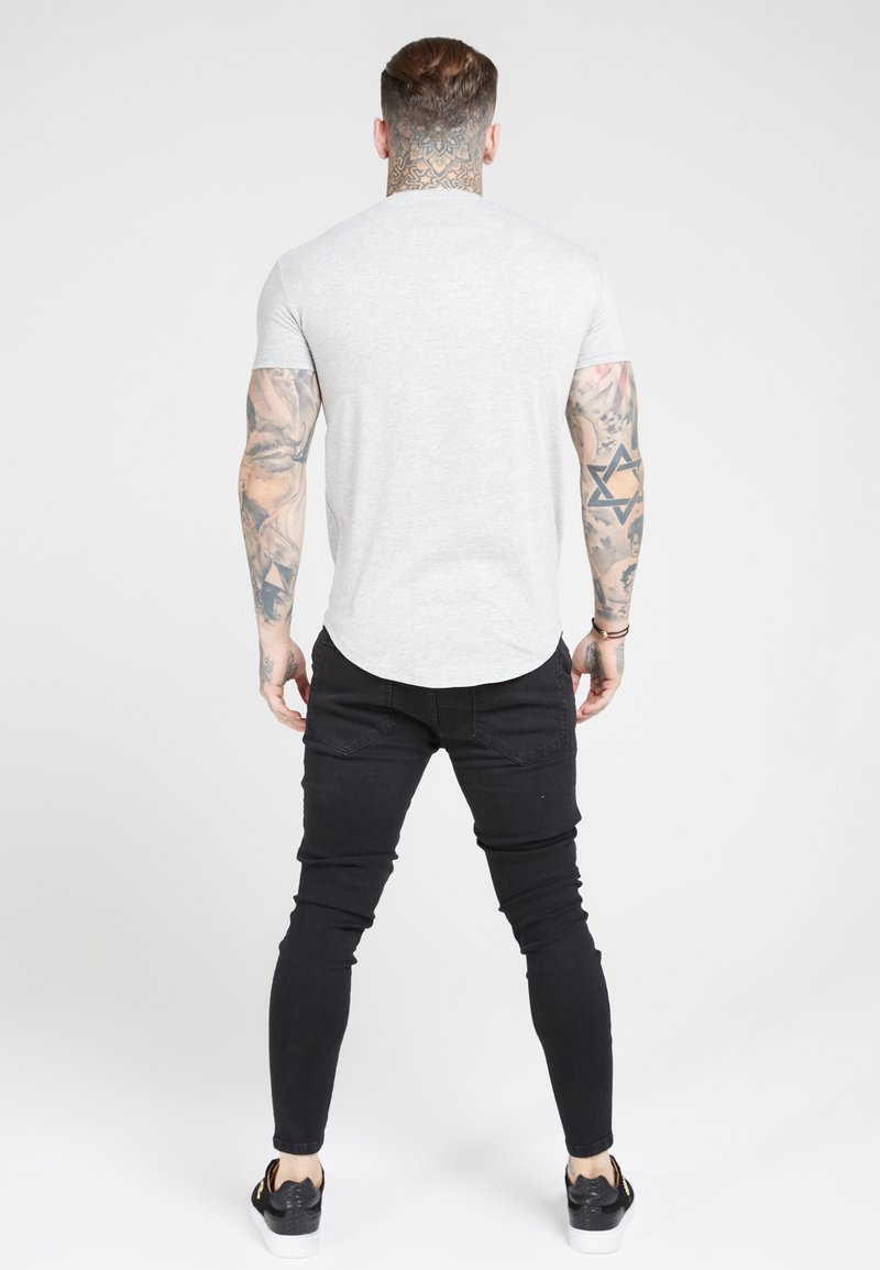 SIKSILK T-shirts - grey marl