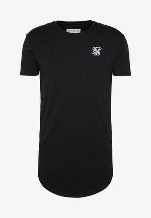 SHORT SLEEVE GYM TEE - T-paita - jet black