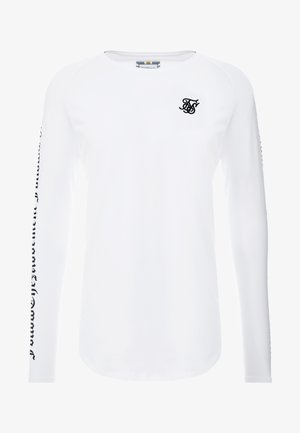 LONG SLEEVE FOLLOW THE MOVEMENT TEE - Maglietta a manica lunga - white
