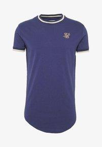 SIKSILK - RIB GYM TEE - T-shirt imprimé - navy - 3