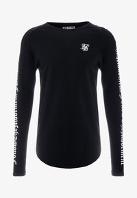 SIKSILK - LONG SLEEVE FOLLOW THE MOVEMENT TEE - Long sleeved top - black - 4