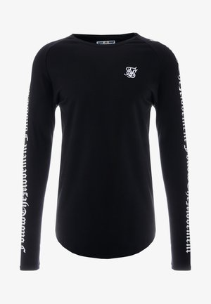 LONG SLEEVE FOLLOW THE MOVEMENT TEE - Langarmshirt - black