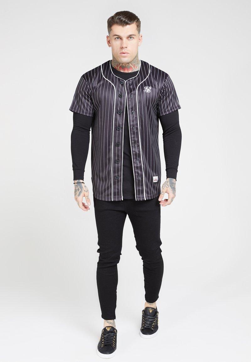 SIKSILK - ORIGINAL BASEBALL  - T-shirt imprimé - black