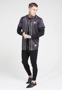 SIKSILK - ORIGINAL BASEBALL  - T-shirt imprimé - black - 4
