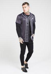 SIKSILK - ORIGINAL BASEBALL  - T-shirt imprimé - black - 1
