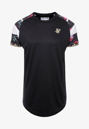 SPRINT TAPE TEE - T-shirts print - black & oil paint
