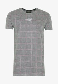 SIKSILK - SMART GYM TEE - T-shirt con stampa - grey/pink - 3