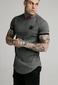 SIKSILK - RIB TECH - Camiseta básica - grey - 3