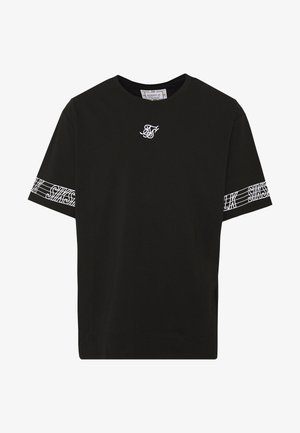 ESSENTIAL RUNNER OVERSIZED TEE - T-shirt print - black