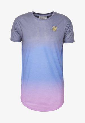 CURVED HEM FADE TEE - Print T-shirt - tri neon