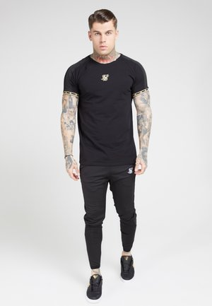 T-shirt print - black  gold