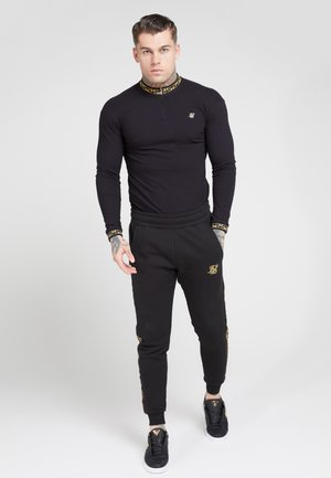 LONG SLEEVE CHAIN  - Longsleeve - black/gold