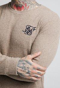 SIKSILK - Pullover - beige - 4