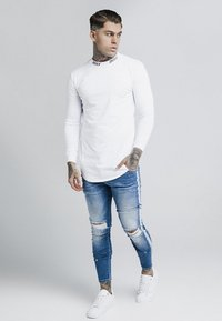 SIKSILK - TURTLE NECK - Long sleeved top - white - 1