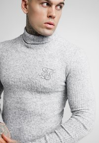 SIKSILK - ROLL NECK JUMPER - Trui - light grey - 4