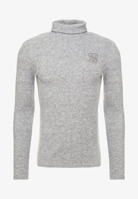 SIKSILK - ROLL NECK JUMPER - Trui - light grey - 3