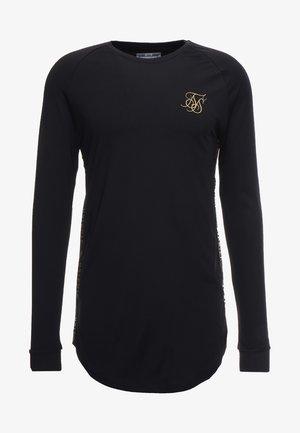 PERFORMANCE CREW - Maglietta a manica lunga - black/gold