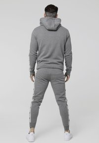 SIKSILK - INSET ZIP THROUGH HOODIE - veste en sweat zippée - grey marl/snow marl - 2