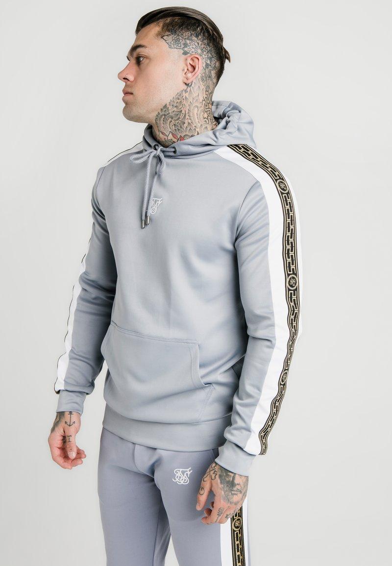 SIKSILK - PANELLED RACER HOOD - Jersey con capucha - grey