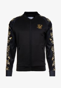 SIKSILK - TRICOT BOMBER JACKET - Bombertakki - black/white/gold - 3