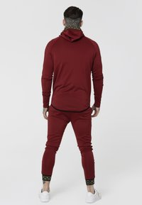 SIKSILK - CARTEL ATHLETE TAPE ZIP THROUGH  - Sportovní bunda - red