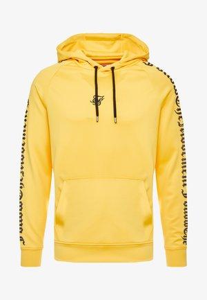 OVERHEAD FOLLOW THE MOVEMENT RAGLAN HOODIE - Hoodie - yellow