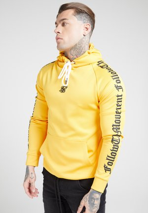 OVERHEAD FOLLOW THE MOVEMENT RAGLAN HOODIE - Hoodie - yellow