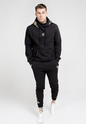OVERHEAD HOODIE - Sweat à capuche - jet black/gold