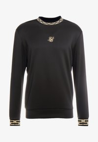 SIKSILK - CHAIN - Långärmad tröja - black/gold - 3