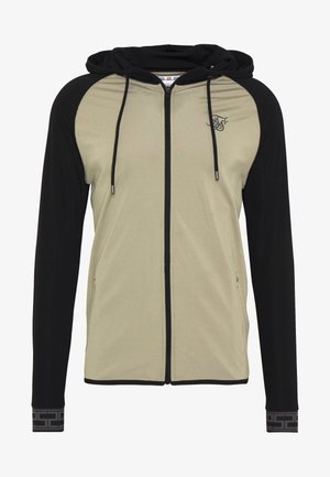 SCOPE ZIP THROUGH HOODIE - Sportovní bunda - khaki/black