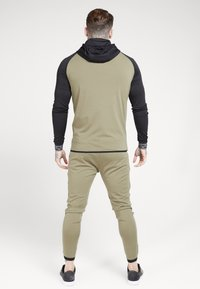 SIKSILK - SCOPE ZIP THROUGH HOODIE - Kurtka sportowa - khaki/black - 2