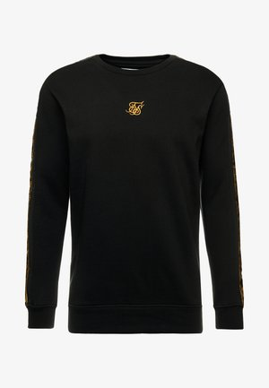 SIKSILK  PANEL CREW  - Mikina - black & gold