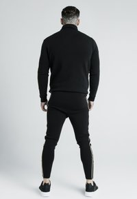SIKSILK - DANI ALVES QUARTER ZIP ROPE TRACK - Sweater - black - 2